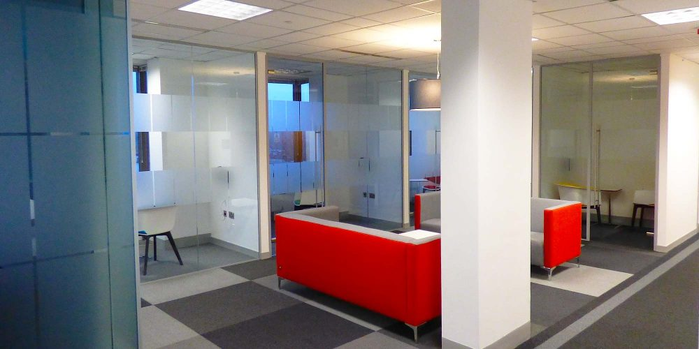Office Refurbishment at Kantar Media, Hanger Lane, London W5