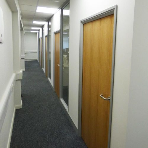 Office Refurbishment at Worldmark Films, Weybridge