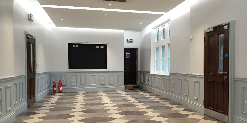 Office Refurbishment at Bradfield College, Reading.