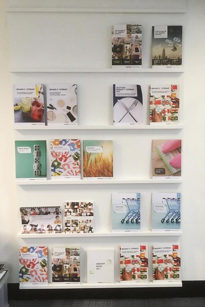 Feature Display Magazine Rack