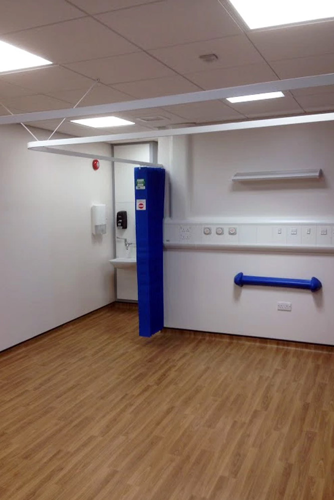 Royal Berkshire Hospital. Refurbishment to Emergency Department