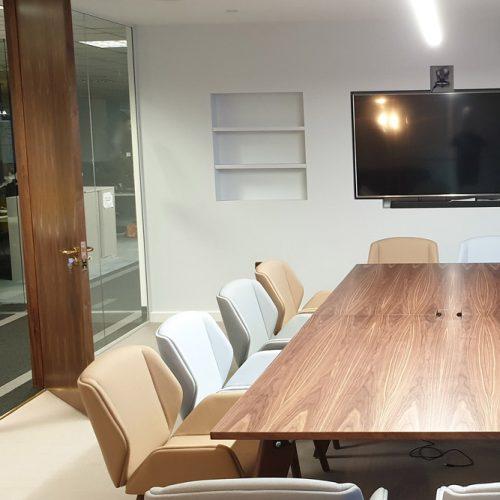 Kantar, Hanger Lane Meeting Room Full Height Door