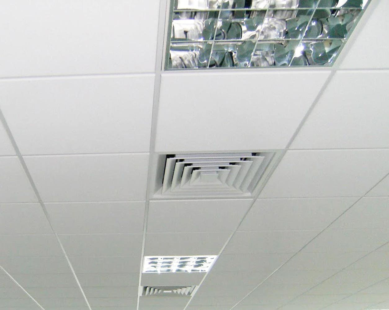Office Refurbishment Light Fitting Installation