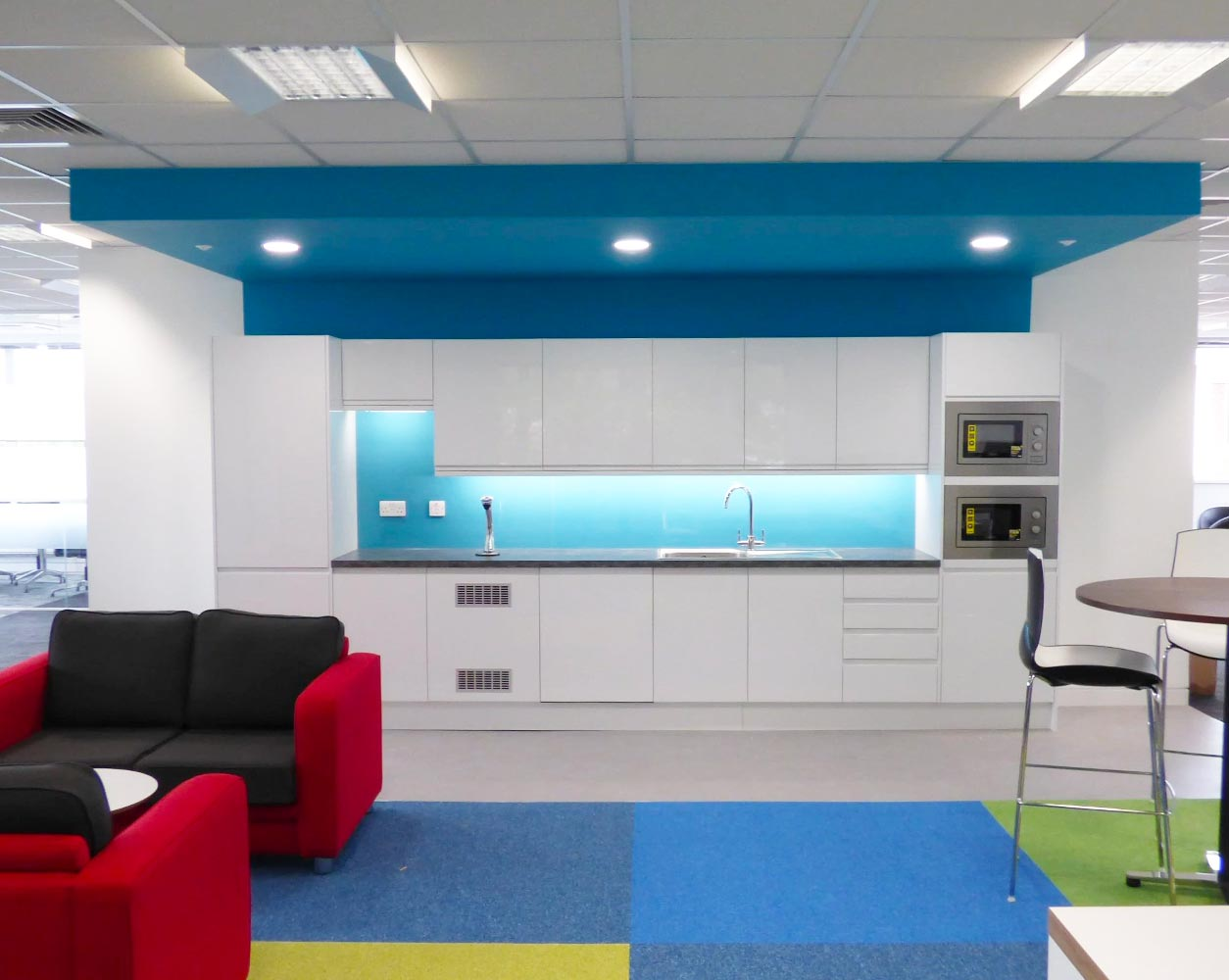 Office Refurbishment Kitchen Installation