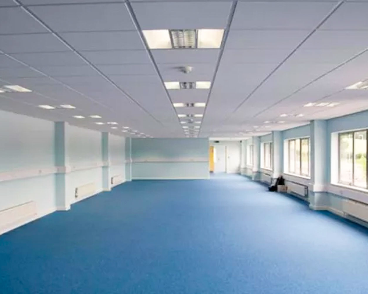 Office Refurbishment including a suspended ceiling installation
